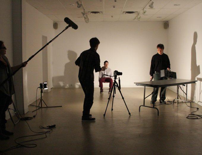 Étudiants en Arts visuels et numériques - création