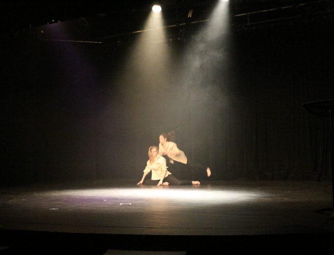 Prestation de danse