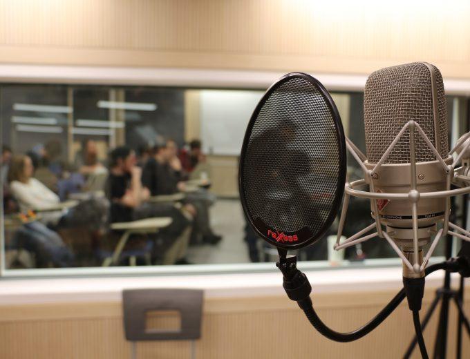 Studio d'enregistrement en Technologies sonores