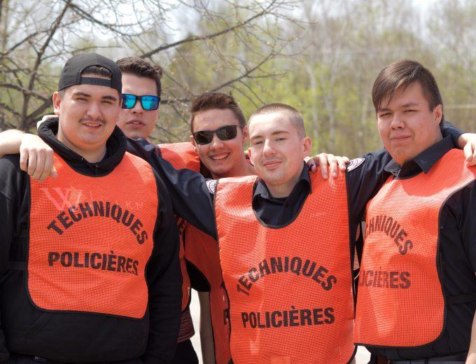 Groupe d'étudiants de Techniques policières autochtones