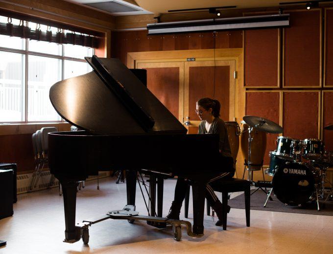 Étudiante en Musique - piano