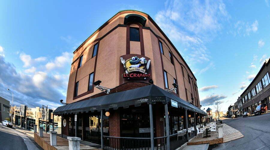Bar Le Crapaud - centre-ville d'Alma