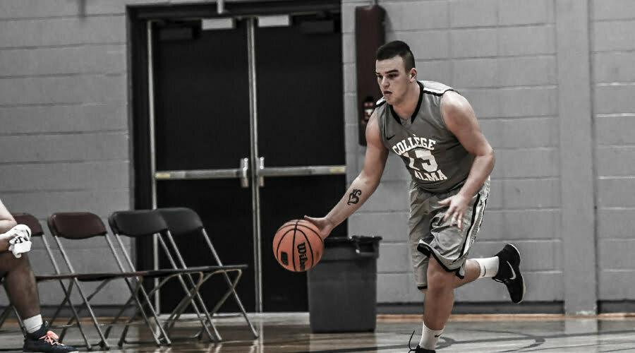 Basketball - joueur qui dribble