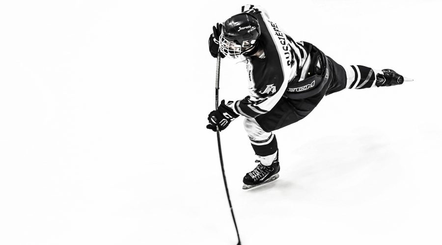 Hockey - joueur en action
