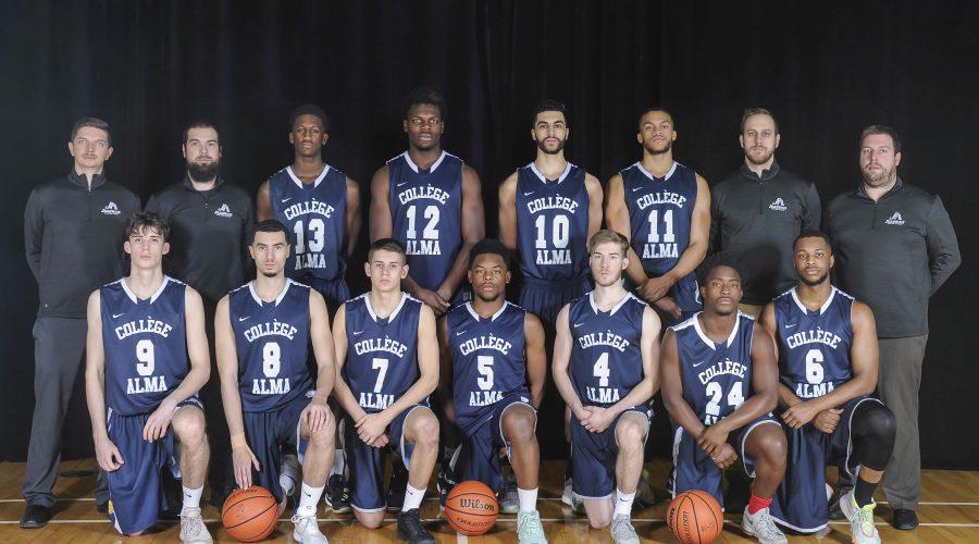 Équipe de basketball D2 2019