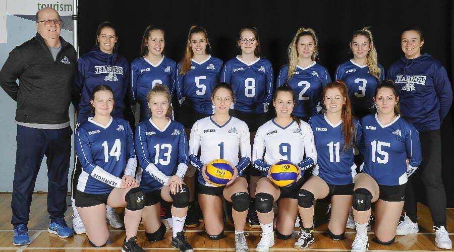 Équipe de volleyball féminine - édition 2019-2020