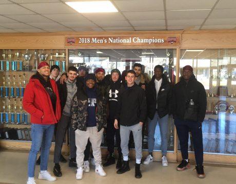 Équipe de basket-ball du Collège d'Alma aux USA