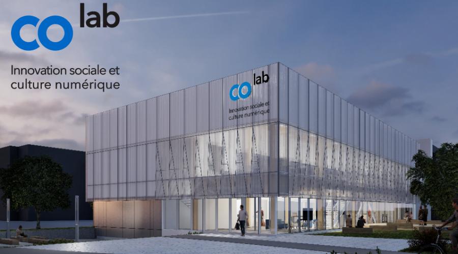Bâtisse COlab - maquette