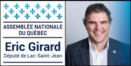 M. Éric Girard, député de Lac-Saint-Jean