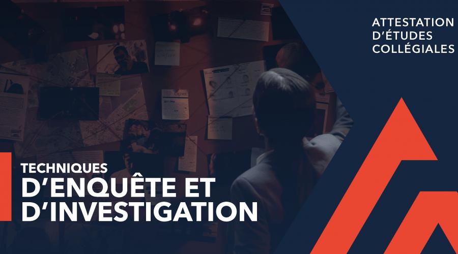 AEC - Enquête et investigation -femme devant babillard