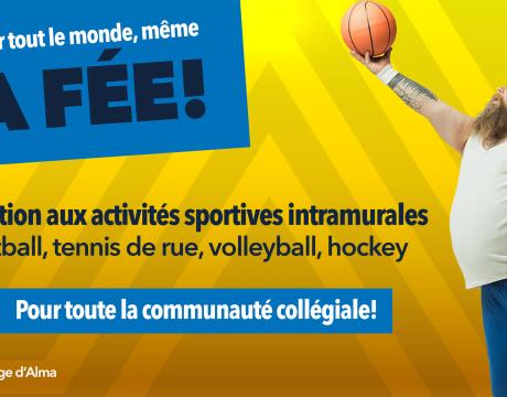 Inscription aux sports intramuraux